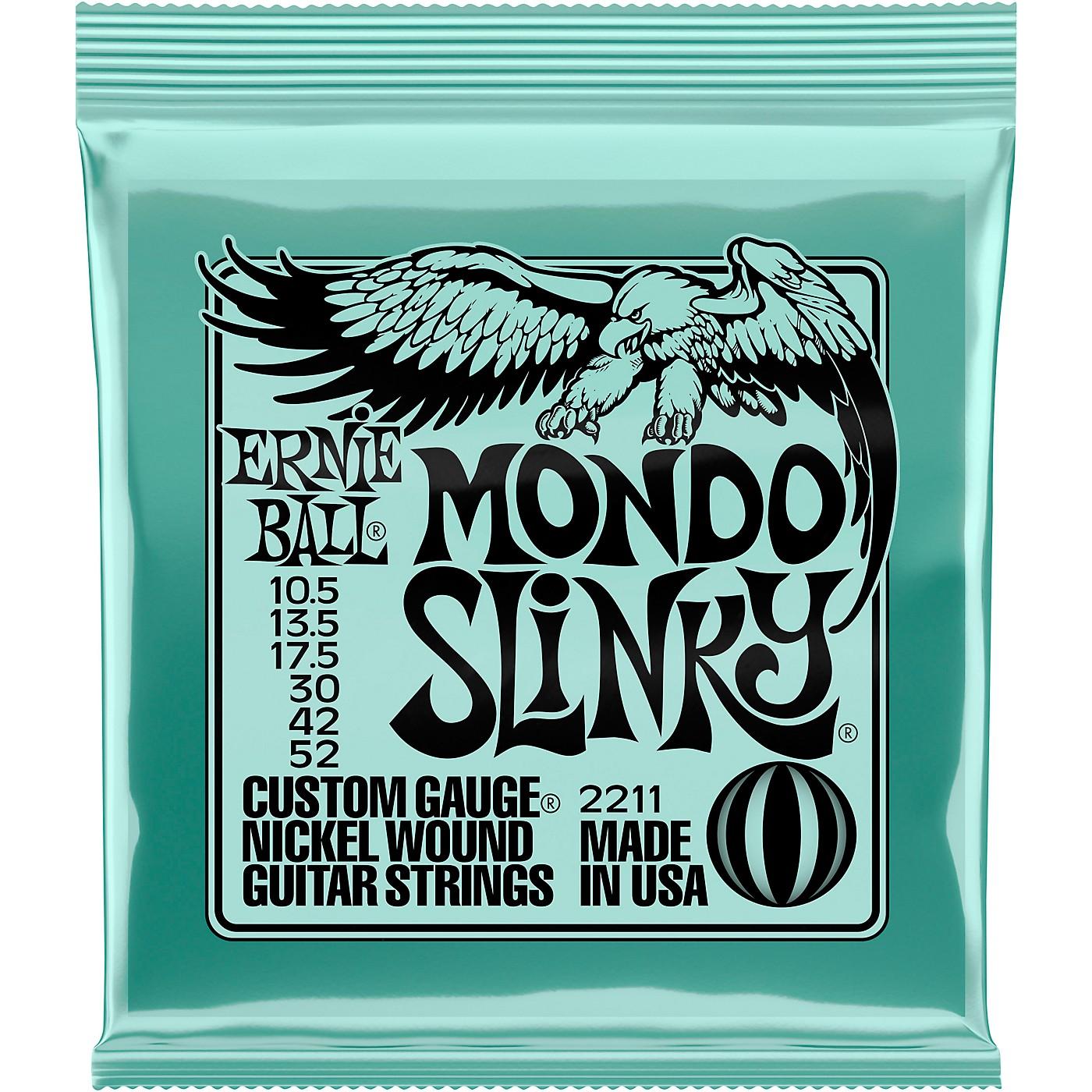 Ernie Ball Mondo Slinky 2211 (10.5-52) Nickel Wound Electric Guitar Strings thumbnail