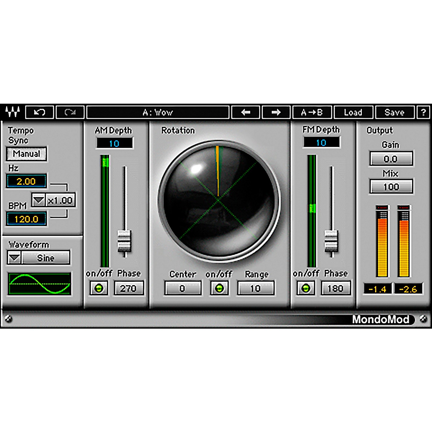 Waves MondoMod Native/TDM/SG Software Download thumbnail
