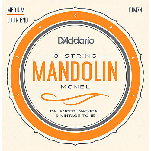 D'Addario Monel Mandolin Strings thumbnail