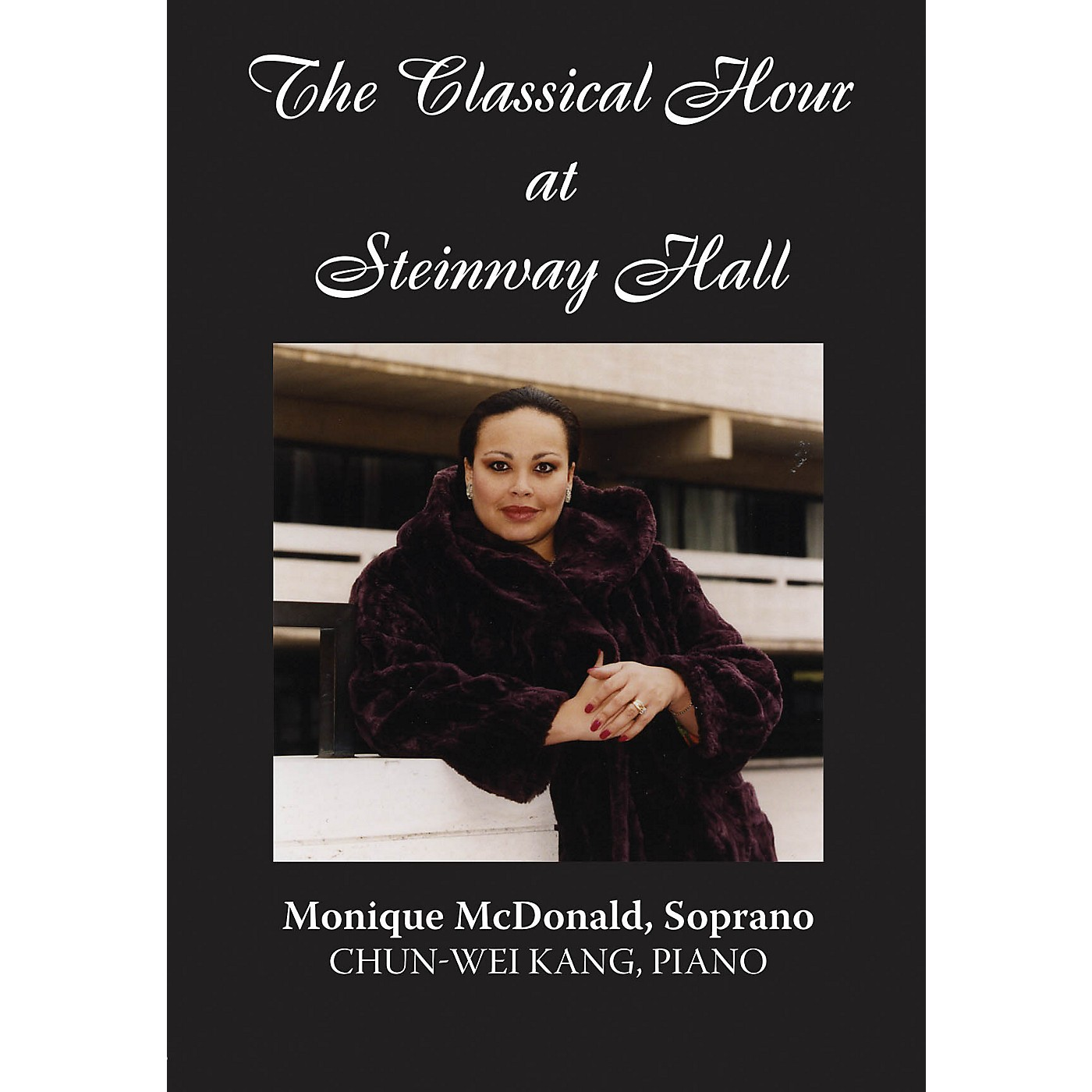 Amadeus Press Monique McDonald (The Classical Hour at Steinway Hall) Amadeus Series DVD Performed by Monique McDonald thumbnail