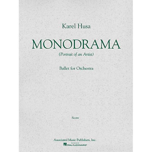 Associated Monodrama (Portrait of an Artist) (Miniature Full Score) Study Score Series Composed by Karel Husa thumbnail