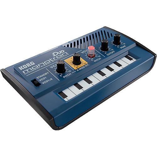 Korg Monotron Duo Analog Ribbon Synthesizer thumbnail