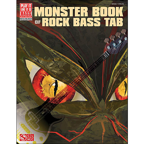 Cherry Lane Monster Book Of Rock Bass Tab thumbnail