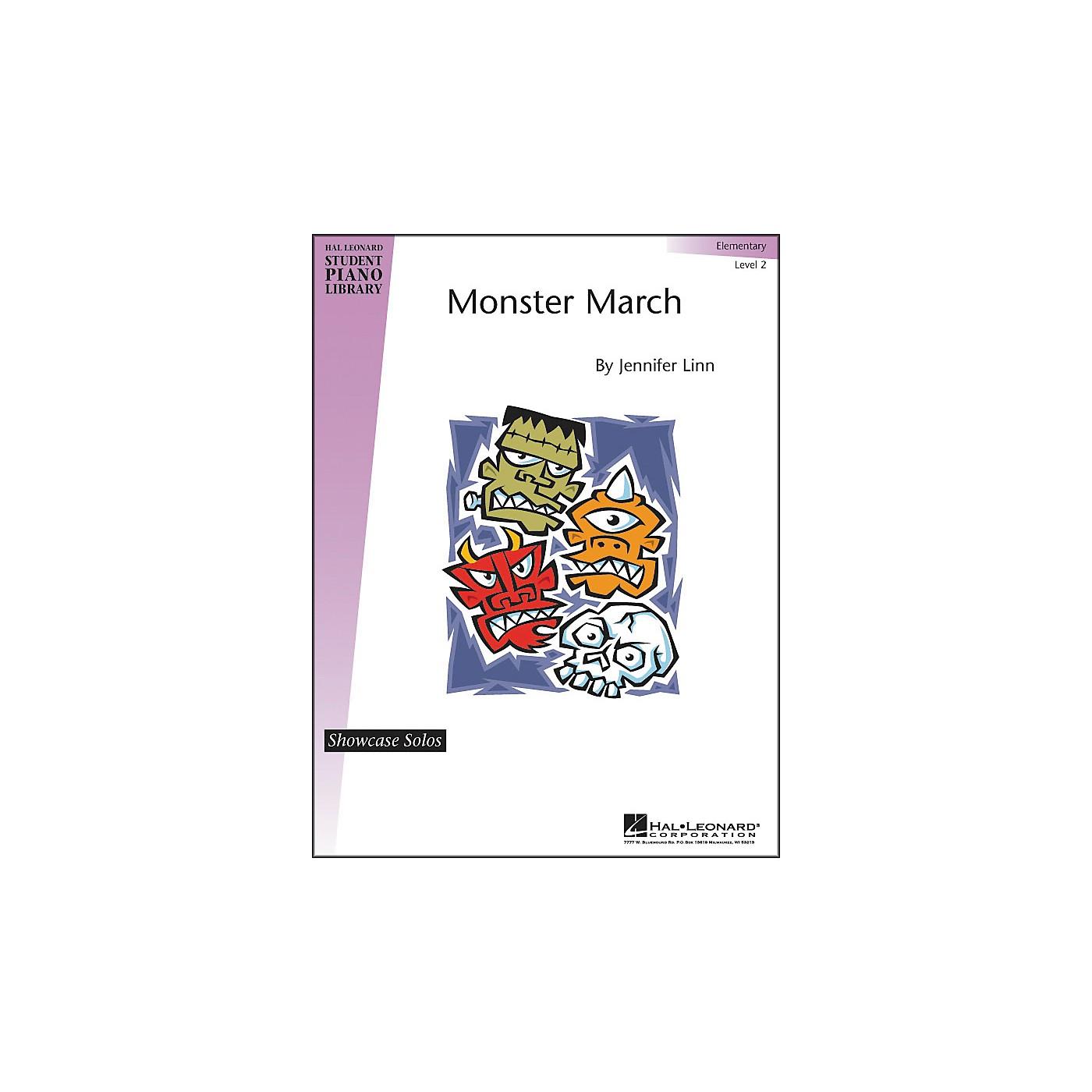 Hal Leonard Monster March Elementary Level 2 Showcase Solos Hal Leonard Student Piano Library thumbnail