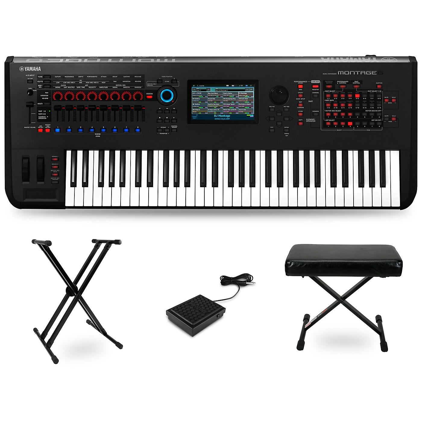Yamaha Montage 61-Key Synthesizer Essentials Kit thumbnail