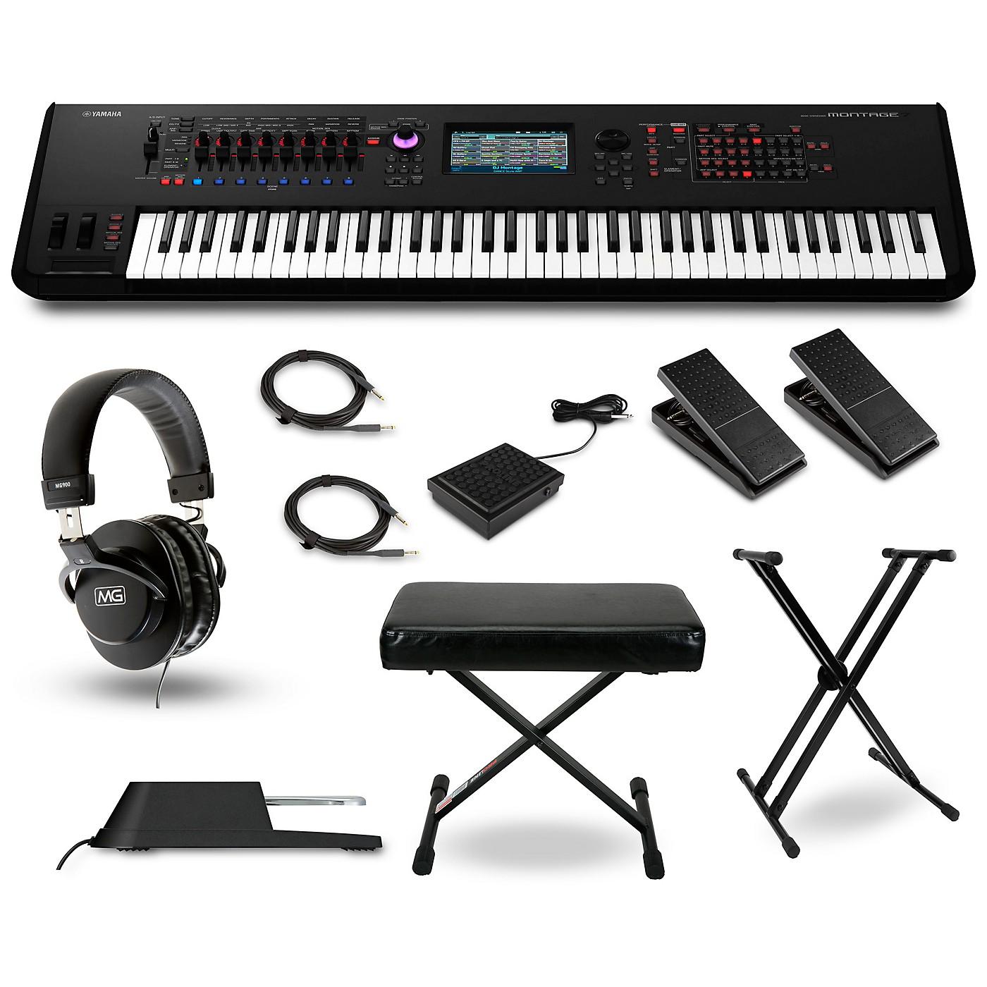 Yamaha Montage 7 Synthesizer Package thumbnail