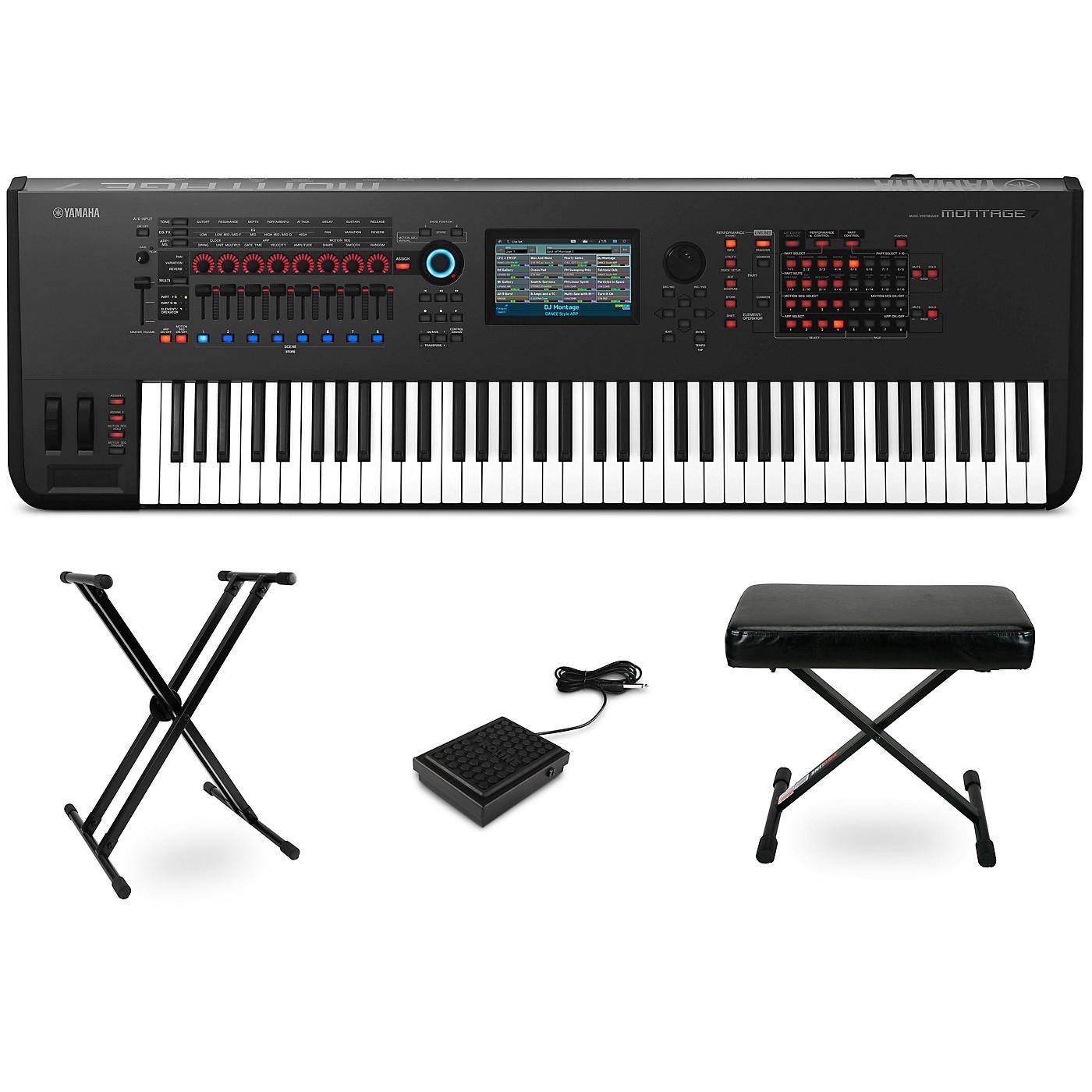 Yamaha Montage 76-Key Synthesizer Essentials Kit thumbnail