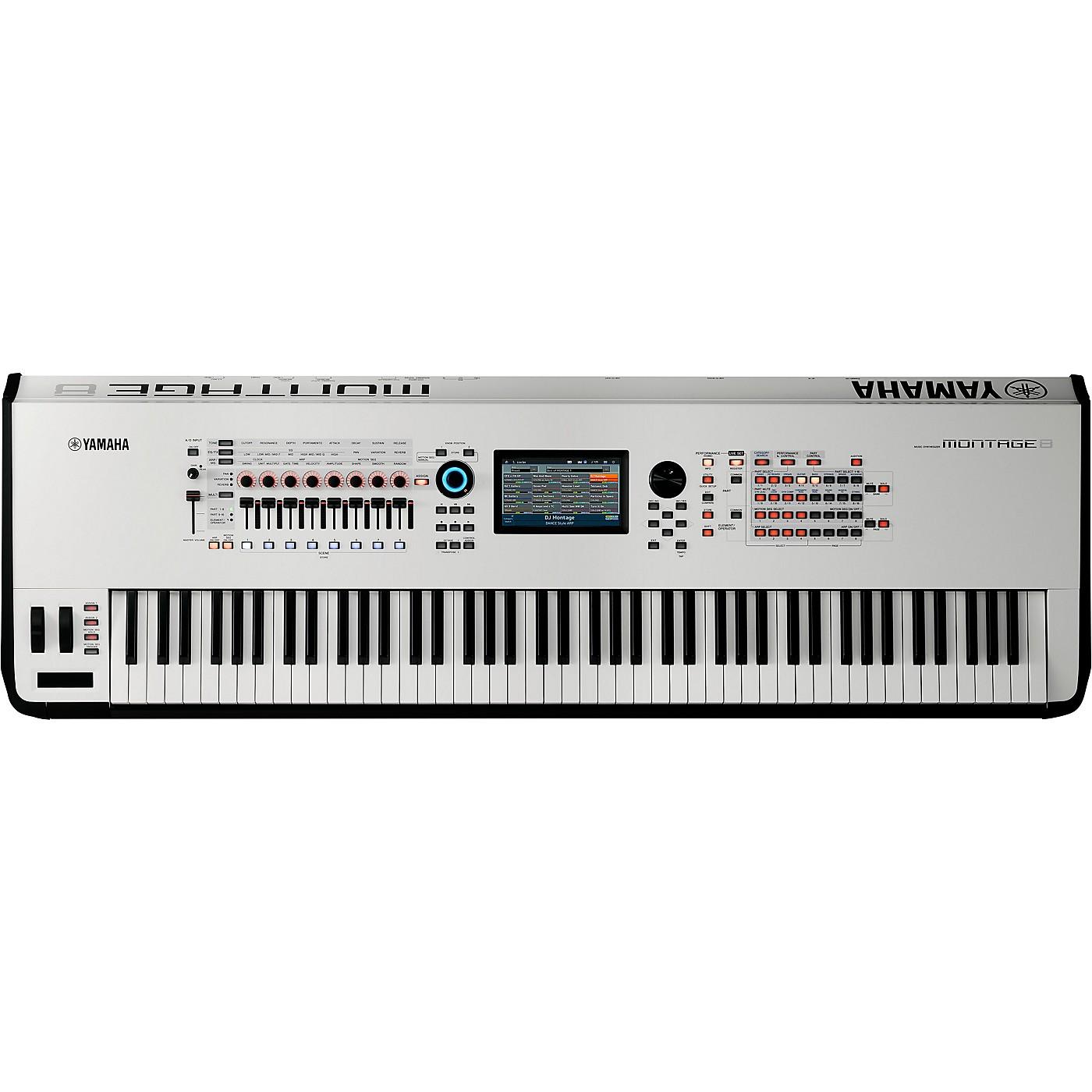 Yamaha Montage 8 88-Key Flagship Synthesizer White thumbnail
