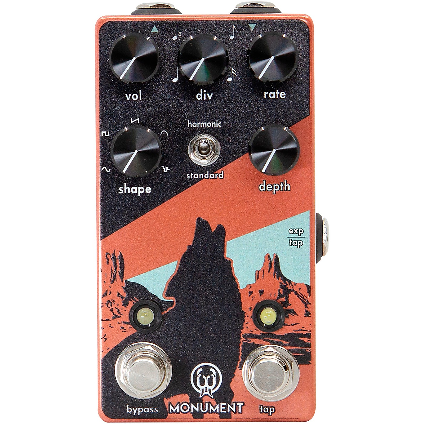 Walrus Audio Monument Harmonic Tap Tremolo V2 Effects Pedal thumbnail