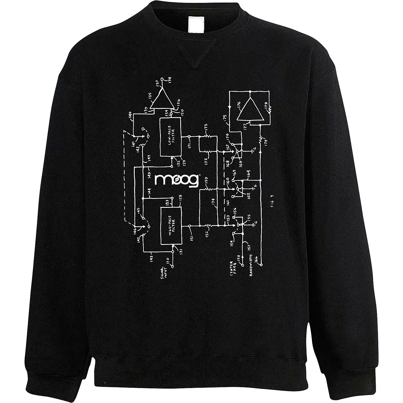 Moog Moogfest 2018 Diagram Sweat Shirt thumbnail