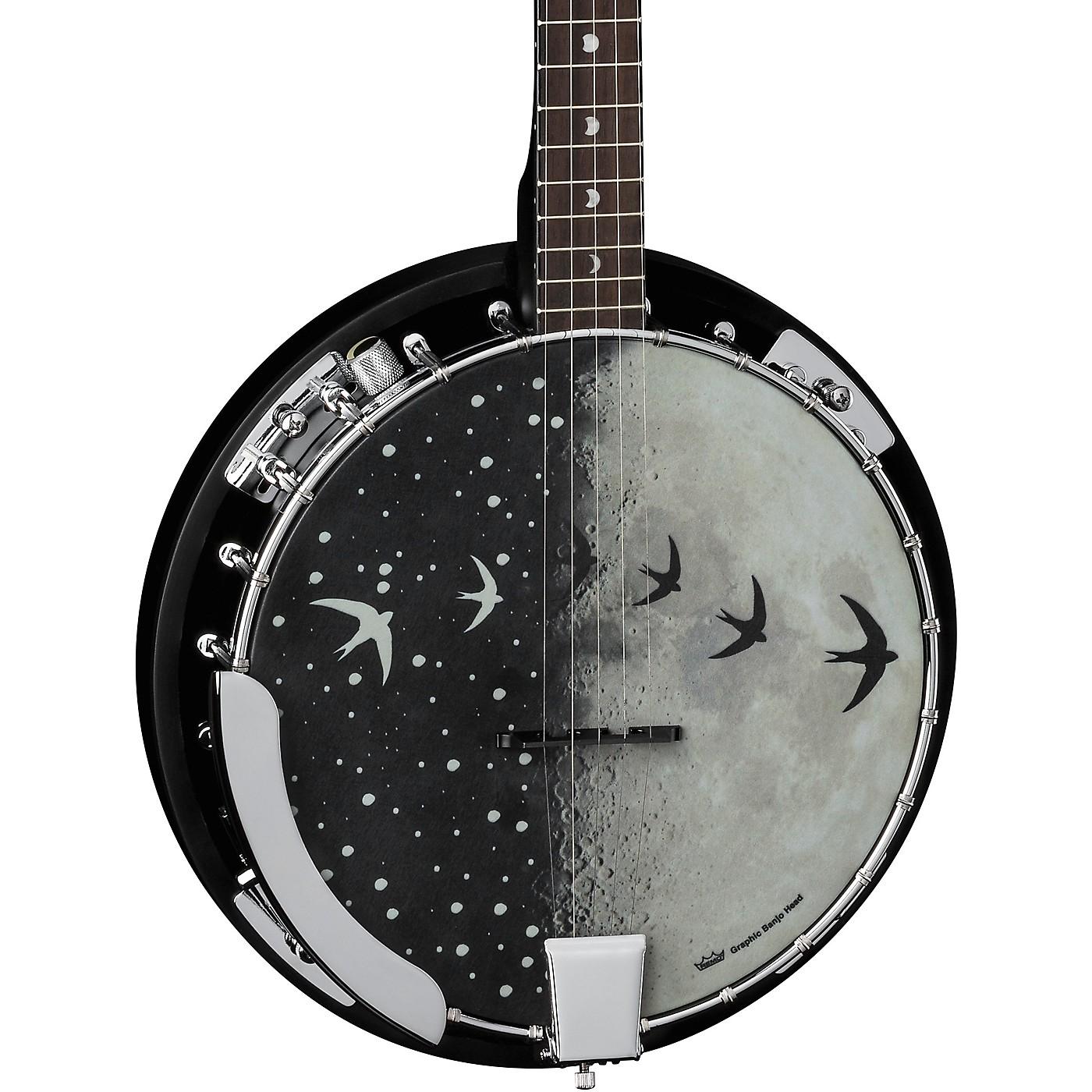 Luna Guitars Moonbird BGB 5-String Acoustic/Electric Banjo thumbnail