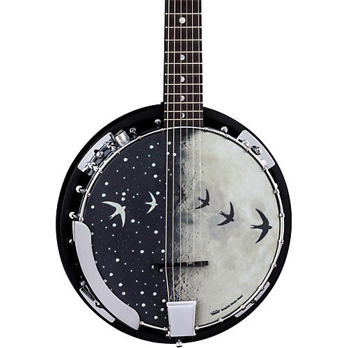 Luna Guitars Moonbird BGB 6-String Acoustic-Electric Banjo thumbnail