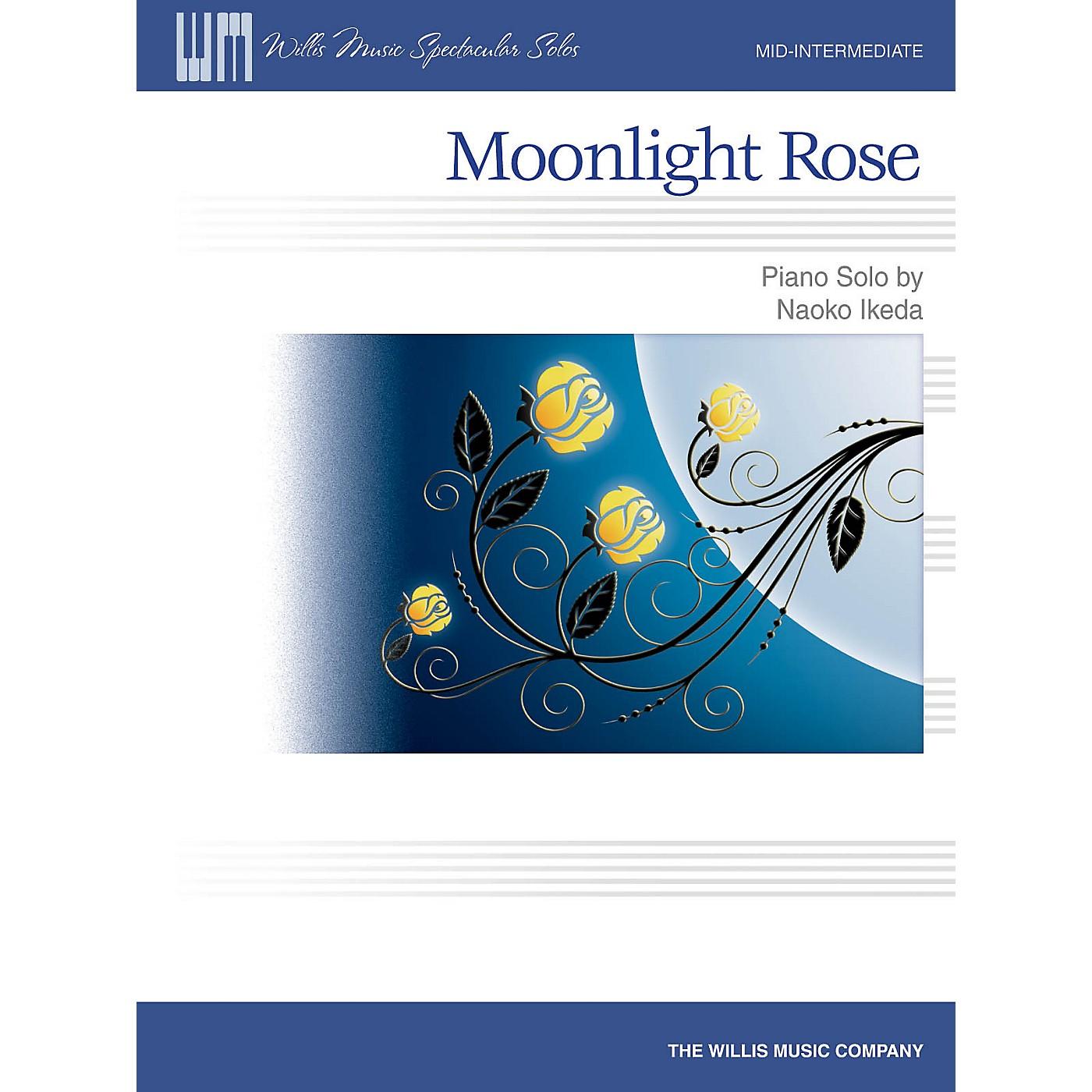 Willis Music Moonlight Rose (Mid-Inter Level) Willis Series by Naoko Ikeda thumbnail