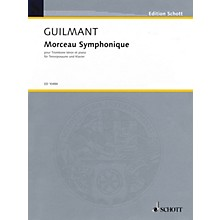 Schott Morceau Symphonique, Op. 88 (Trombone and Piano) Schott Series Softcover