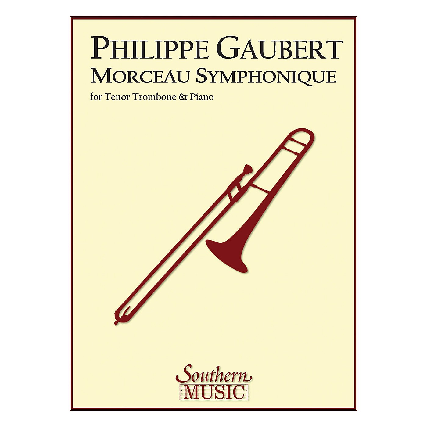 Southern Morceau Symphonique (Trombone) Southern Music Series Composed by Philippe Gaubert thumbnail