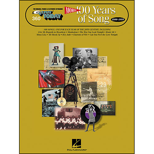 Hal Leonard More 100 Years Of Song 1900-1999 E-Z Play 360 thumbnail