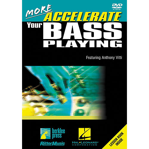 Hal Leonard More Accelerate Your Bass Playing DVD thumbnail