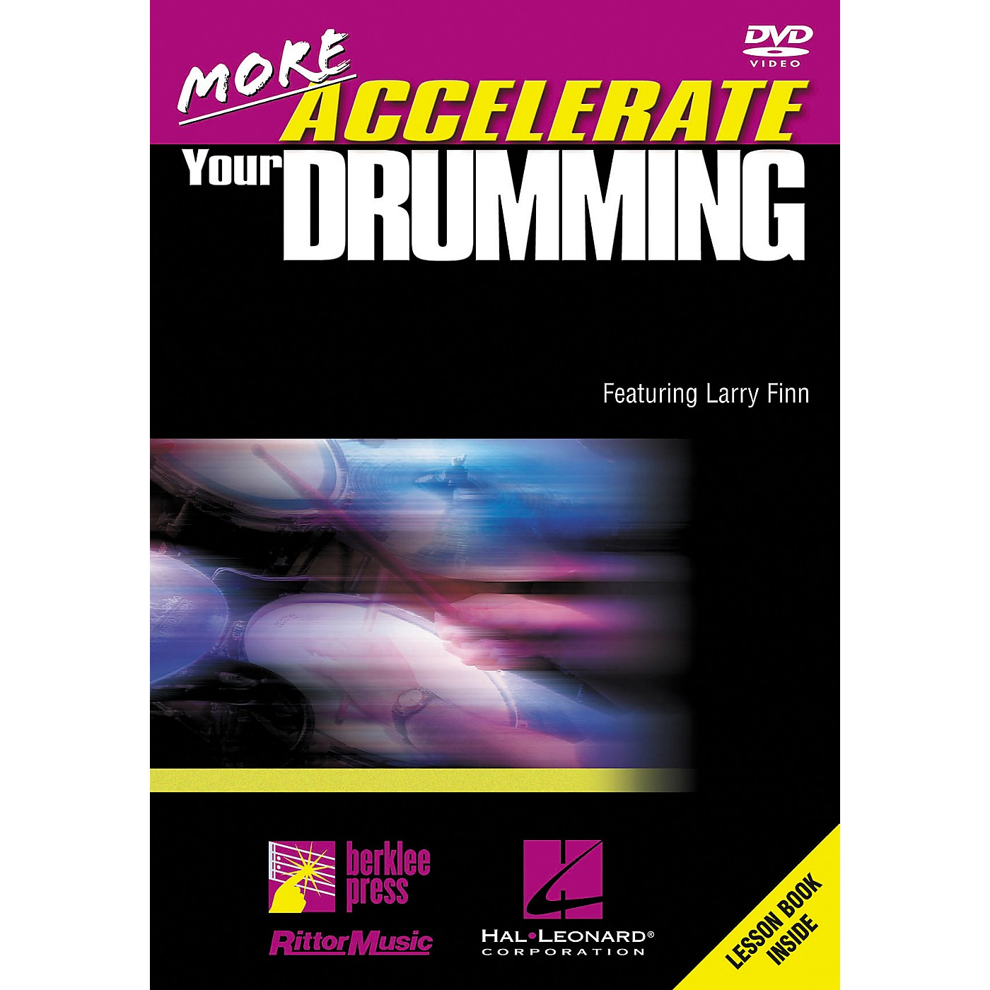 Hal Leonard More Accelerate Your Drumming DVD thumbnail