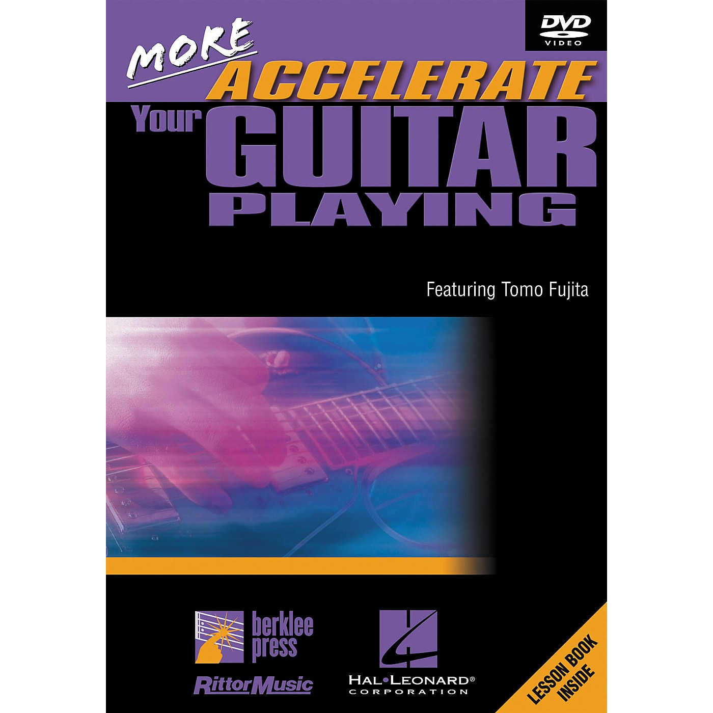 Hal Leonard More Accelerate Your Guitar Playing DVD thumbnail