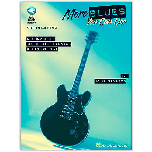 Hal Leonard More Blues You Can Use (Book/Online Audio)-thumbnail