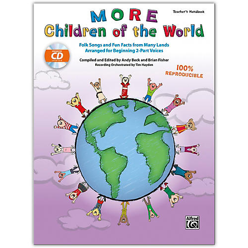Alfred More Children of the World CD Kit (Book & Enhanced CD) Grades 3 & Up thumbnail
