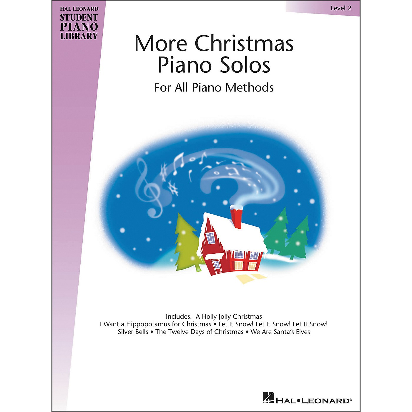 Hal Leonard More Christmas Piano Solos Hal Leonard Student Piano Library Book 2 thumbnail