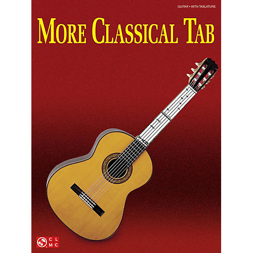 Cherry Lane More Classical Tab (Solo Guitar with Tablature) Guitar Series Softcover thumbnail