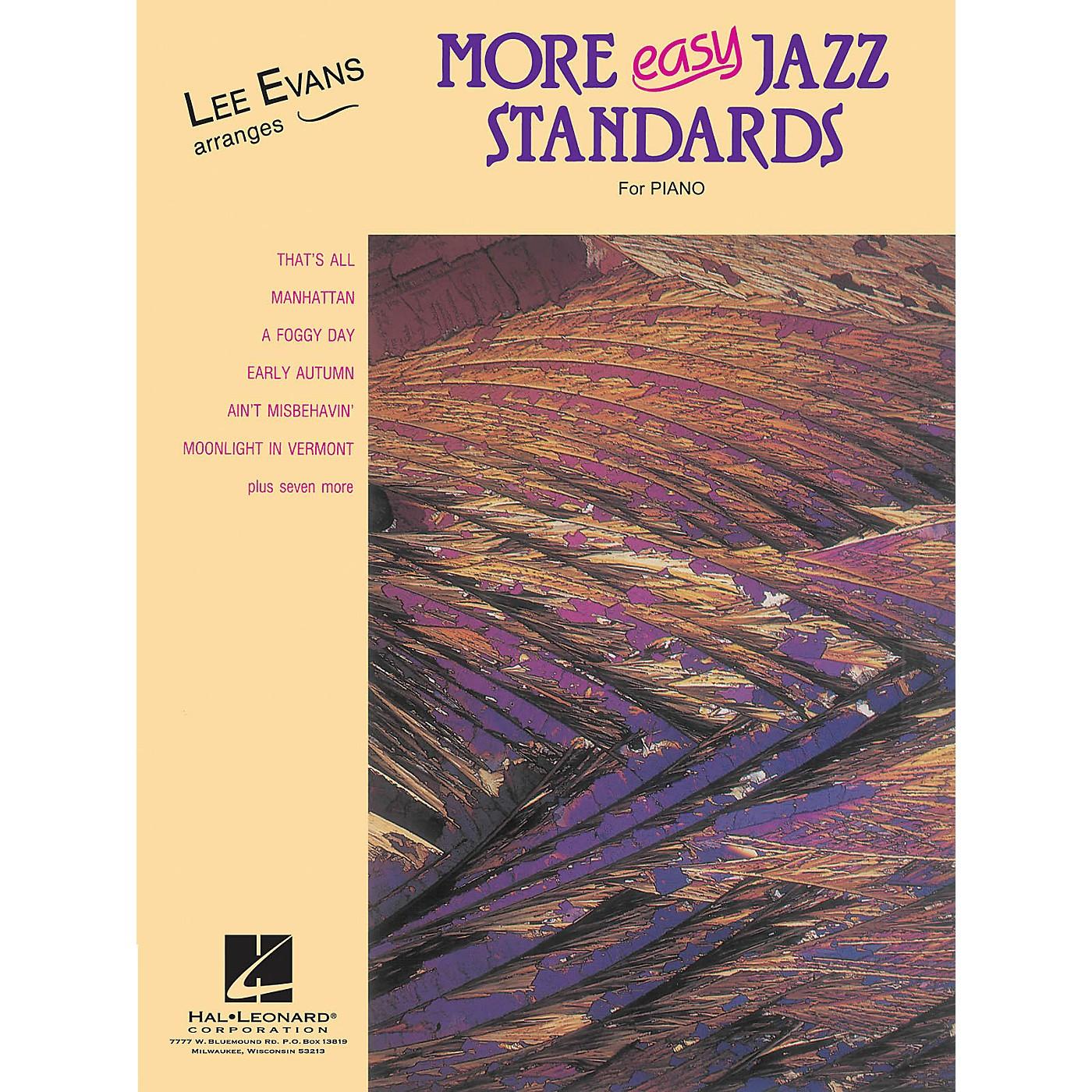 Lee Evans More Easy Jazz Standards (Lee Evans Arranges) Evans Piano Education Series thumbnail