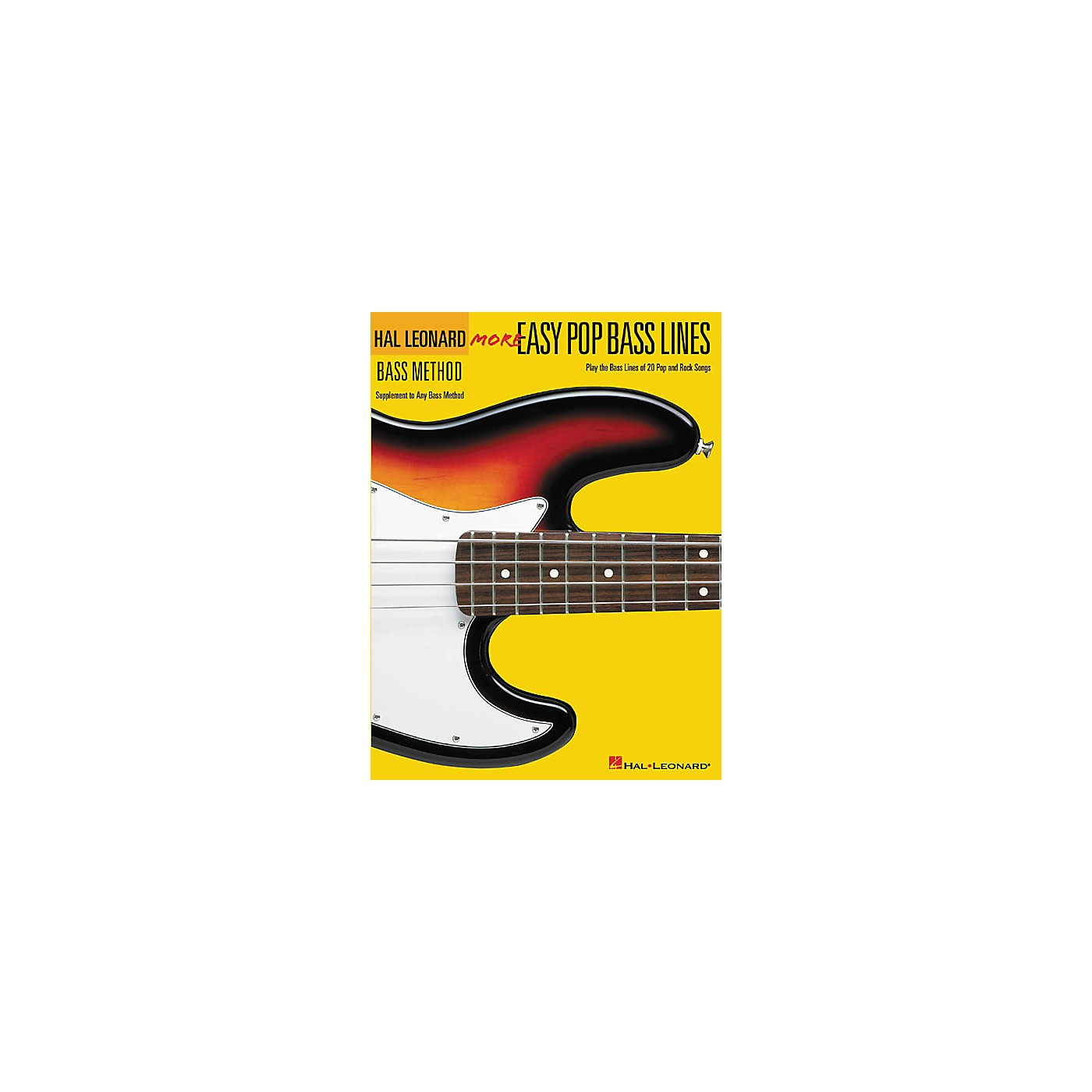 Hal Leonard More Easy Pop Bass Lines Bass Tab Book thumbnail