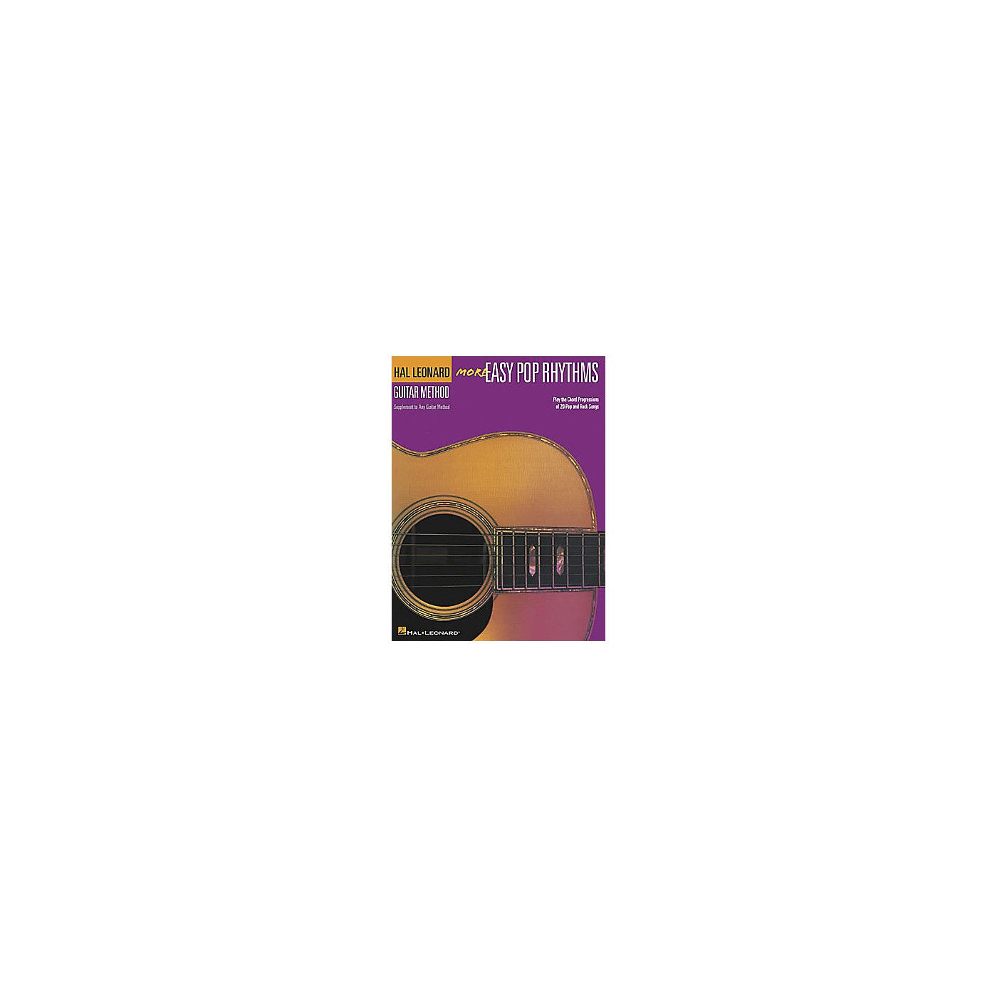 Hal Leonard More Easy Pop Rhythms - 2nd Edition Guitar Method Book thumbnail