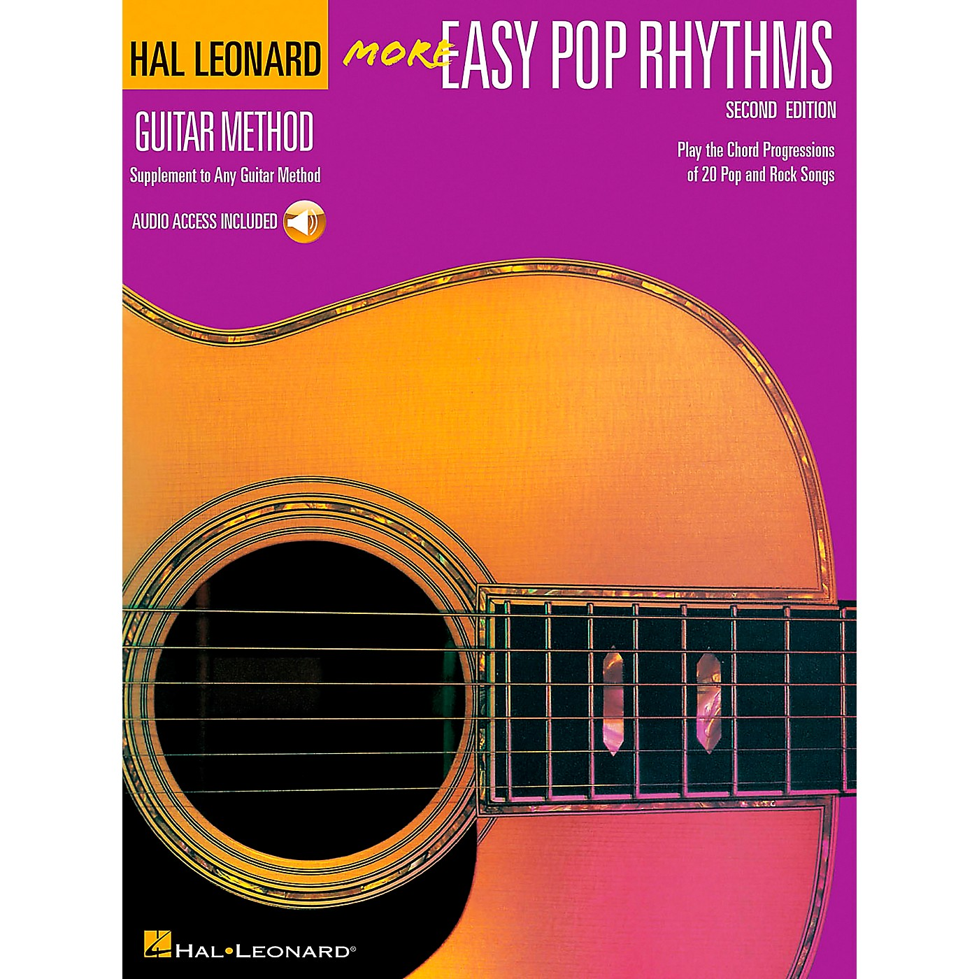 Hal Leonard More Easy Pop Rhythms Guitar Method (Book/CD) thumbnail