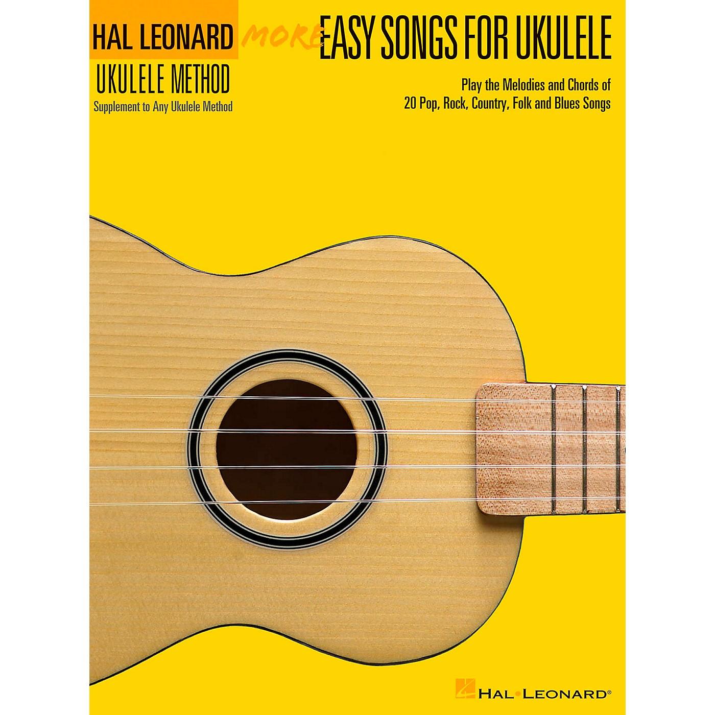 Hal Leonard More Easy Songs For Ukulele thumbnail