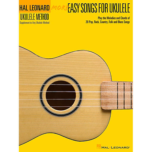 Hal Leonard More Easy Songs For Ukulele thumbnail