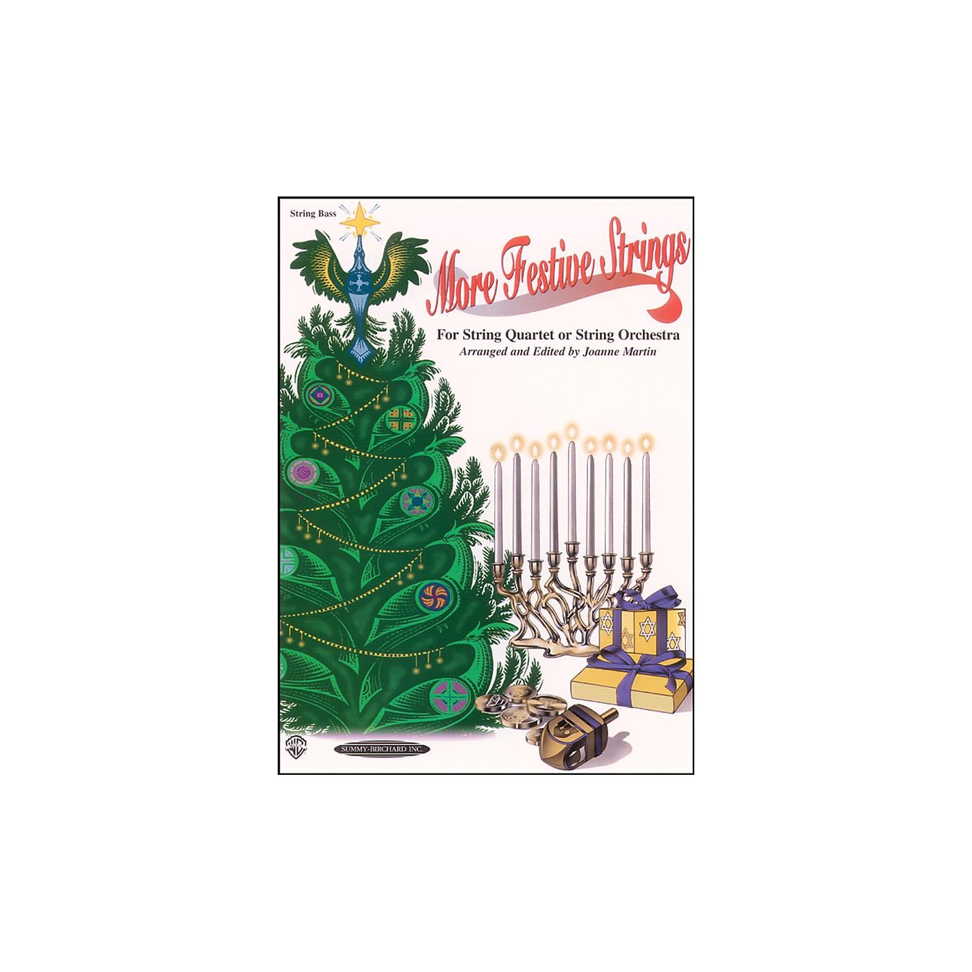 Alfred More Festive Strings Bass (Book) thumbnail