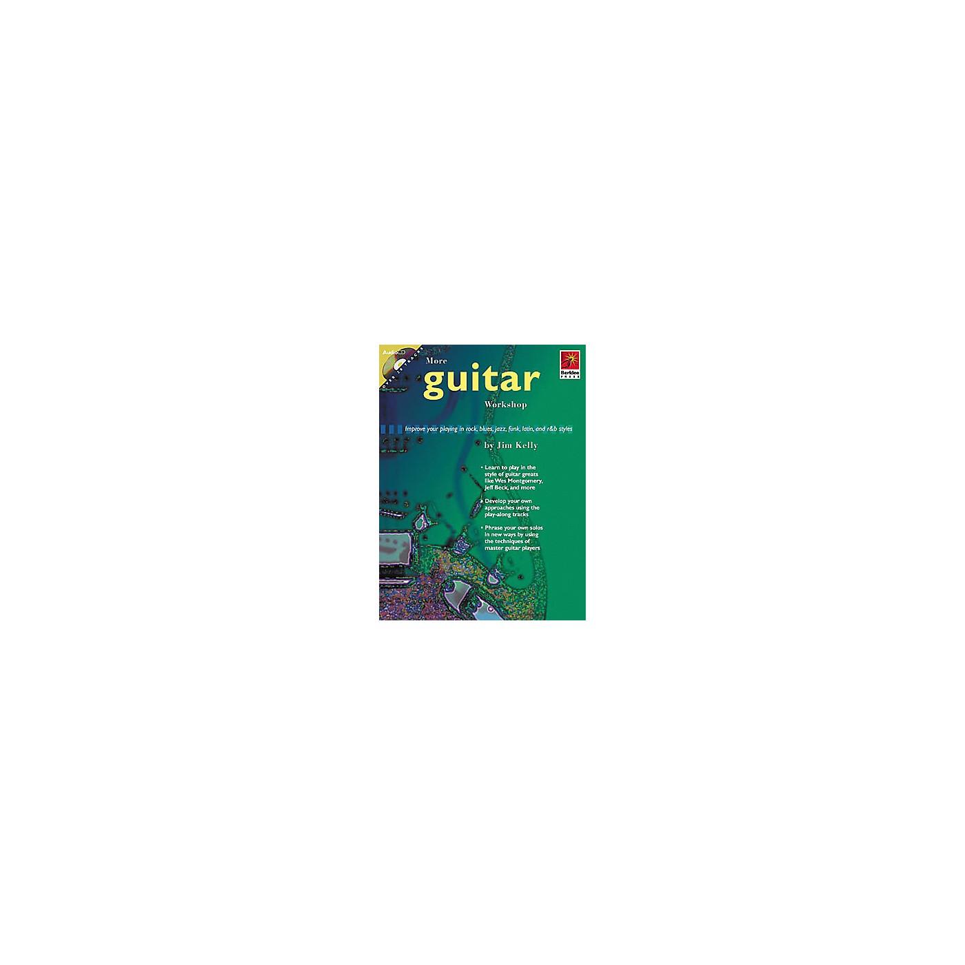 Berklee Press More Guitar Workshop (Book/CD) thumbnail