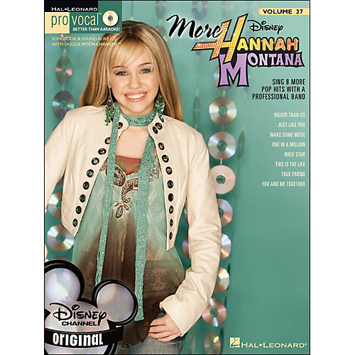 Hal Leonard More Hannah Montana - Pro Vocal Songbook for Female Singers Volume 37 Book/CD-thumbnail