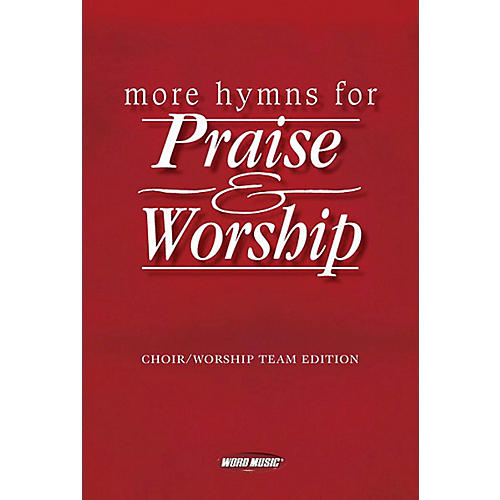 Word Music More Hymns For Praise & Worship Piano/Vocal/Guitar thumbnail