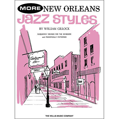Willis Music More New Orleans Jazz Styles Late Intermediate Piano thumbnail