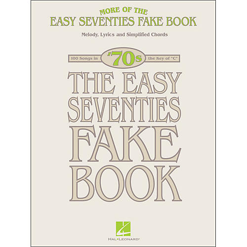 Hal Leonard More Of The Easy 70's Fake Book In The Key Of C thumbnail