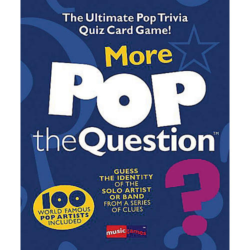 Music Sales More Pop The Question Game - The Ultimate Pop Trivia Quiz Card Game thumbnail