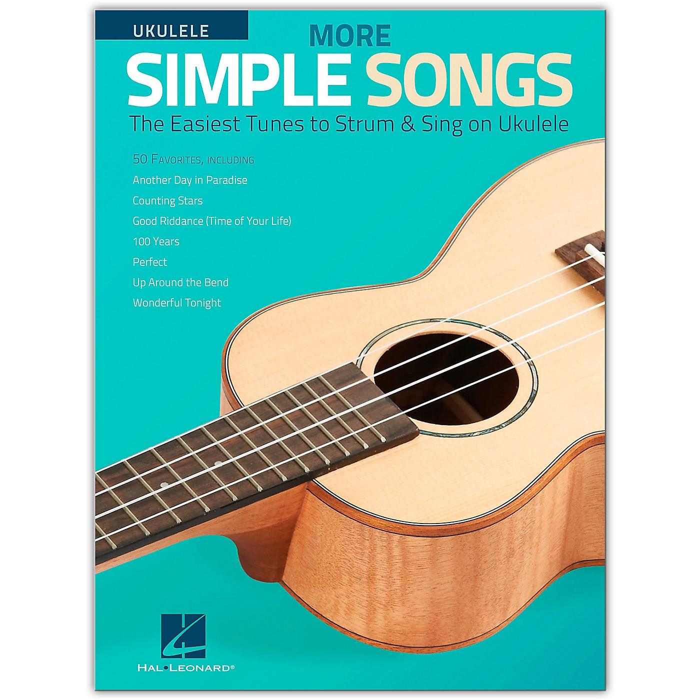 Hal Leonard More Simple Songs for Ukulele Songbook thumbnail