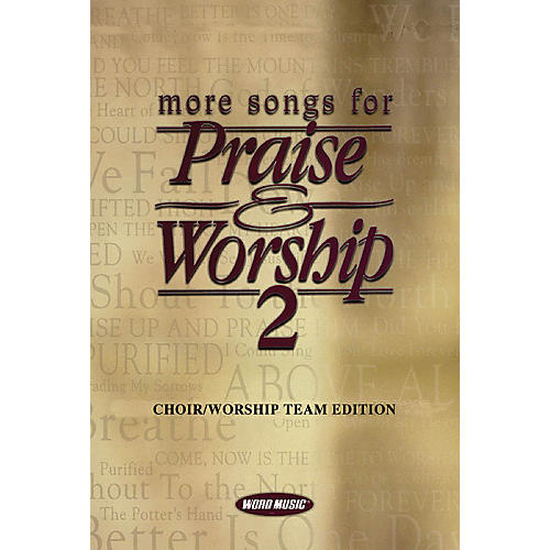 Word Music More Songs for Praise & Worship - Volume 2 (Choir/Worship Team Edition (No Accompaniment)) thumbnail