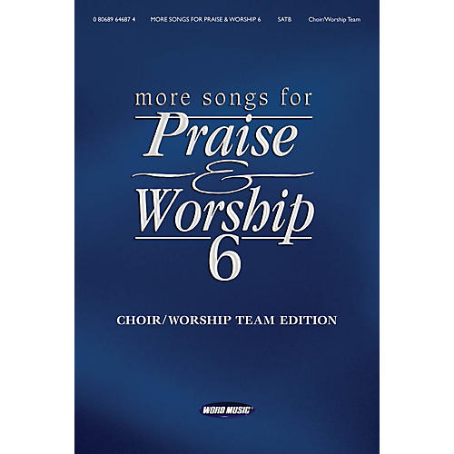 Word Music More Songs for Praise & Worship - Volume 6 for Piano/Vocal/Guitar thumbnail