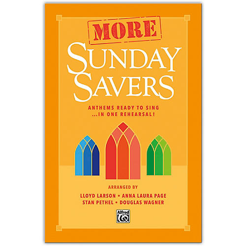 Alfred More Sunday Savers Preview Pack (Book & Listening CD) thumbnail