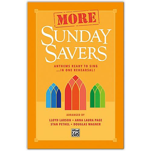 Alfred More Sunday Savers SATB Choral Book thumbnail