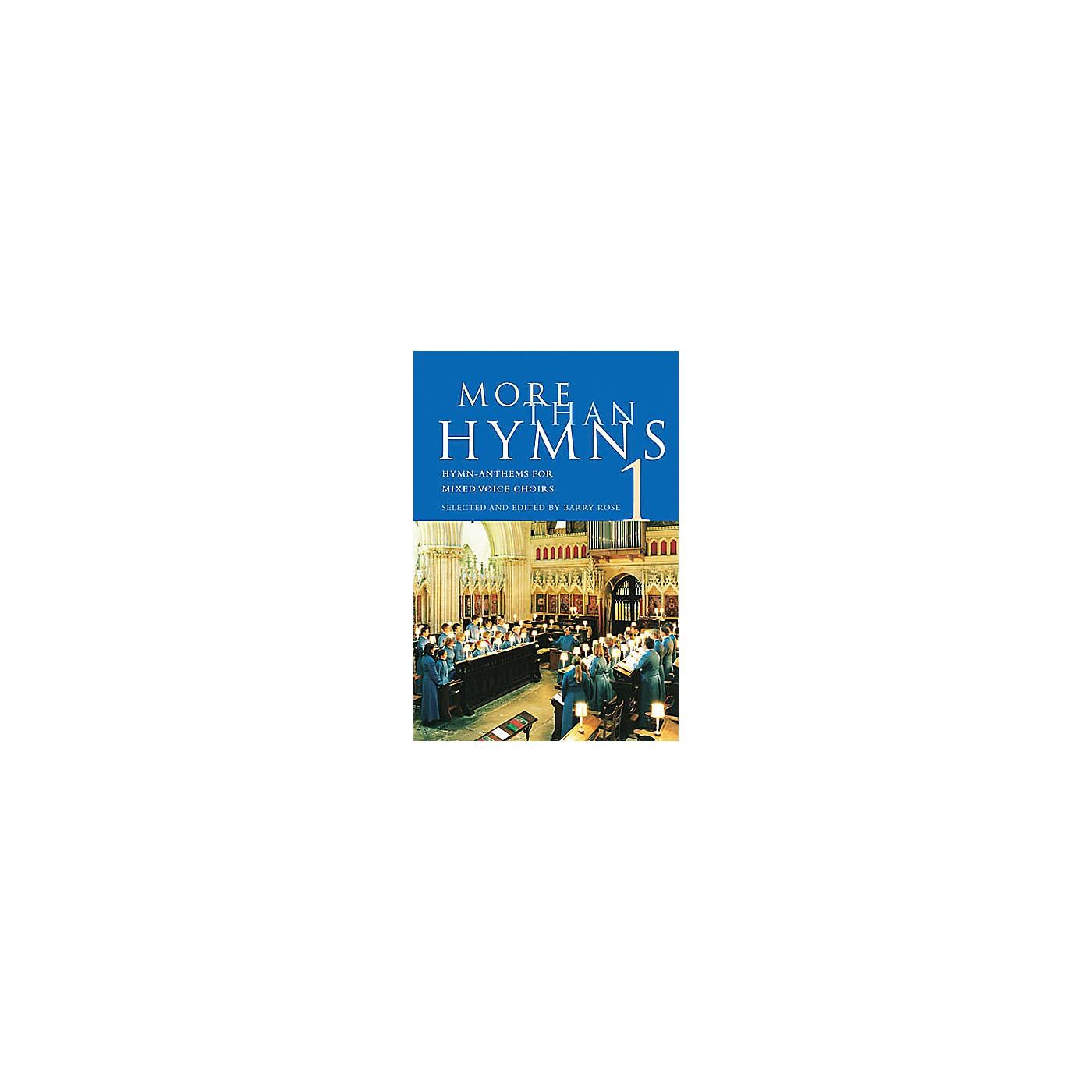 Novello More Than Hymns 1 (Hymn-Anthems for Mixed Voice Choirs) SATB thumbnail