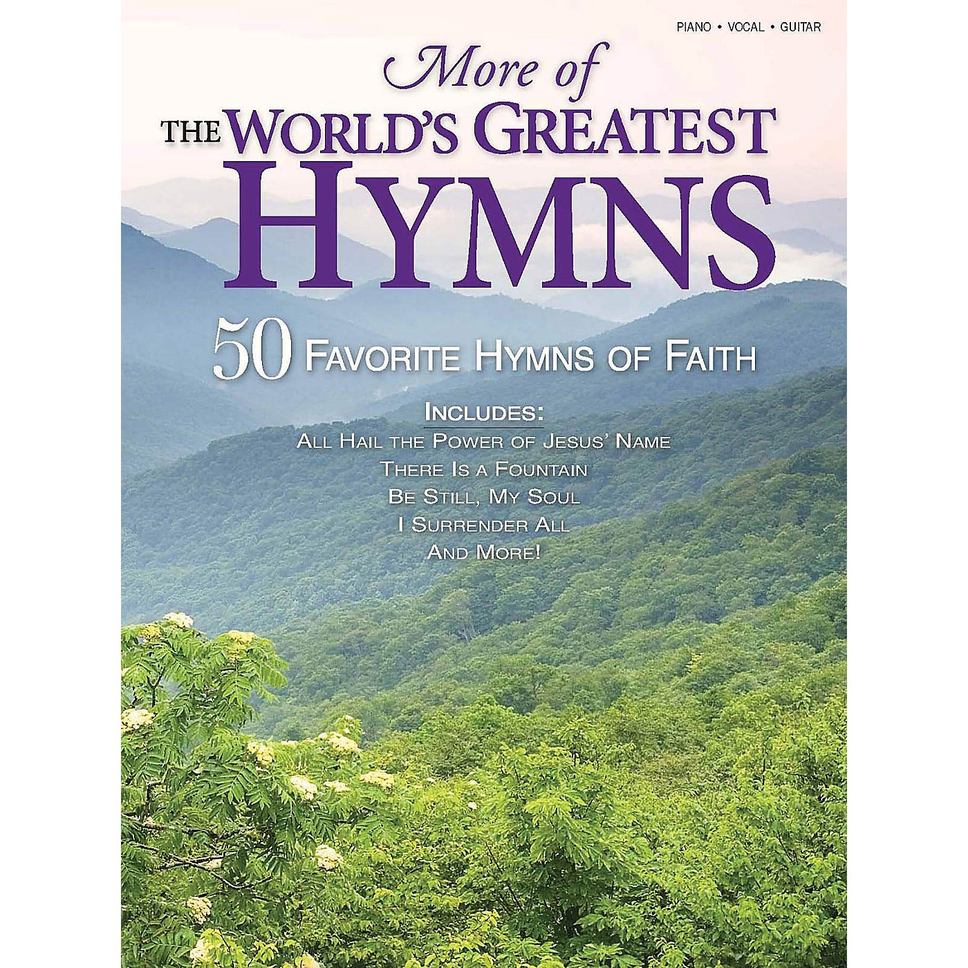 Shawnee Press More of the World's Greatest Hymns (50 Favorite Hymns of Faith) Composed by Various thumbnail