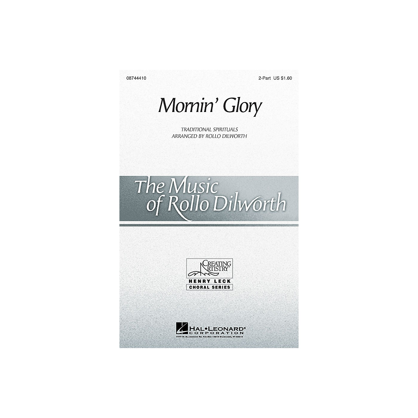 Hal Leonard Mornin' Glory 2-Part arranged by Rollo Dilworth thumbnail