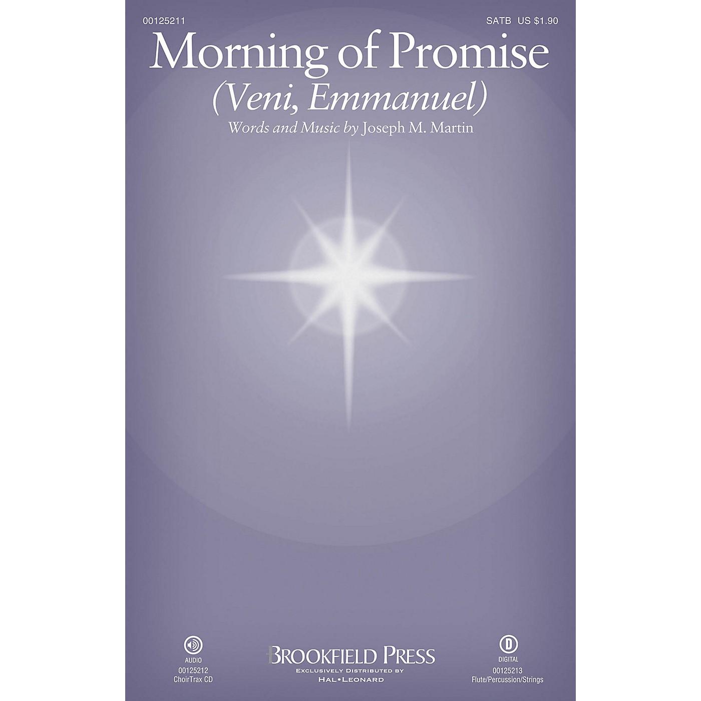 Brookfield Morning of Promise (Veni, Emmanuel) SATB composed by Joseph M. Martin thumbnail