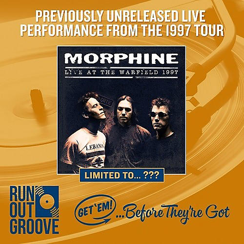 Alliance Morphine - Live At The Warfield 1997 thumbnail